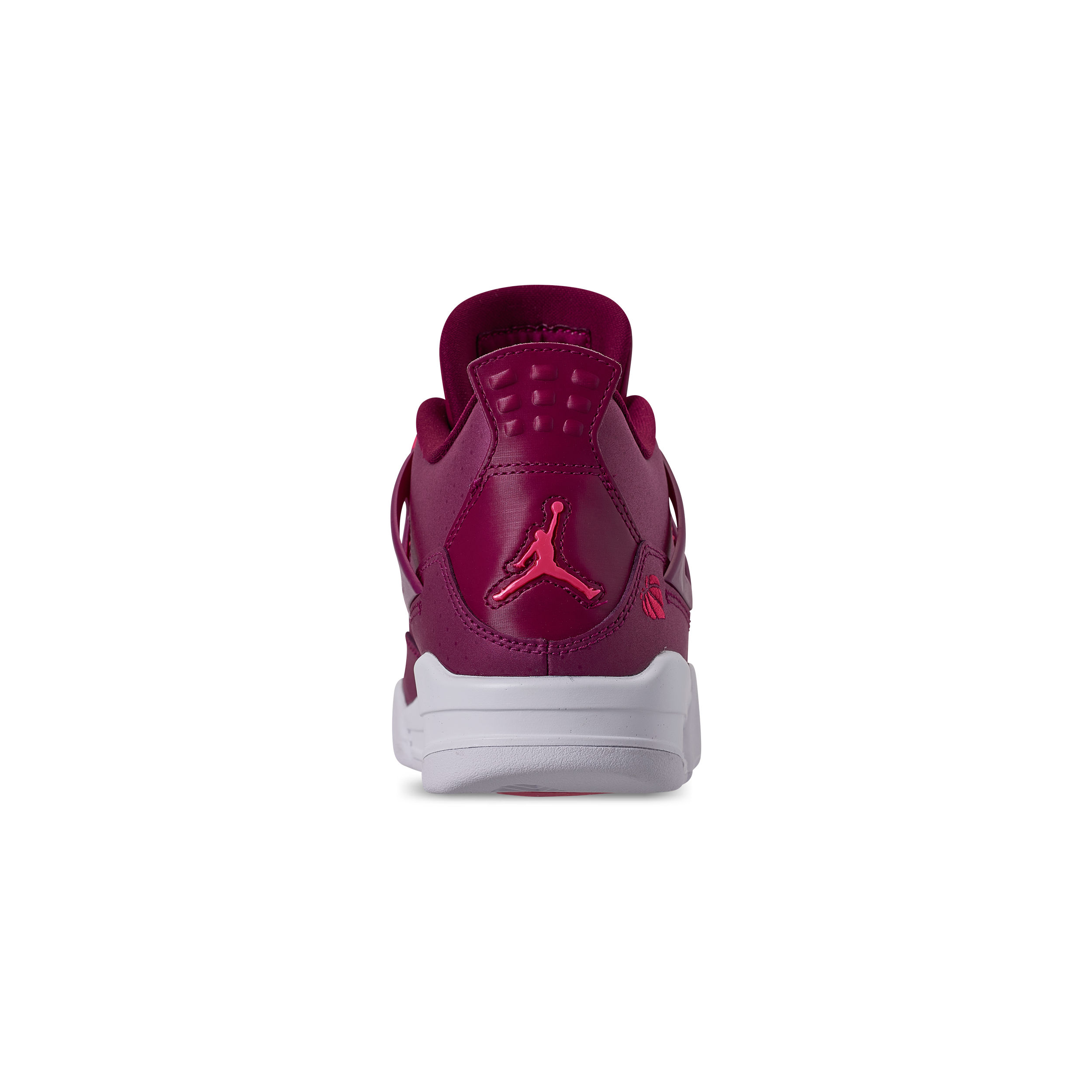 8ea685a89b40 AIR JORDAN RETRO 4 GS TRUE BERRY RUSH PINK-WHITE 5 - WearTesters