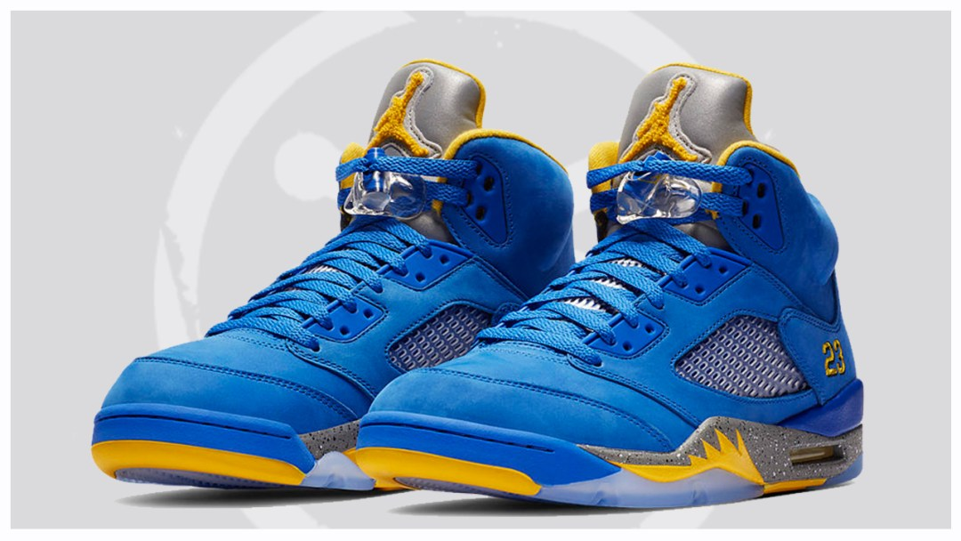 best loved ae31c c208d An Official Look at the Air Jordan 5  Laney Alternate  - WearTesters