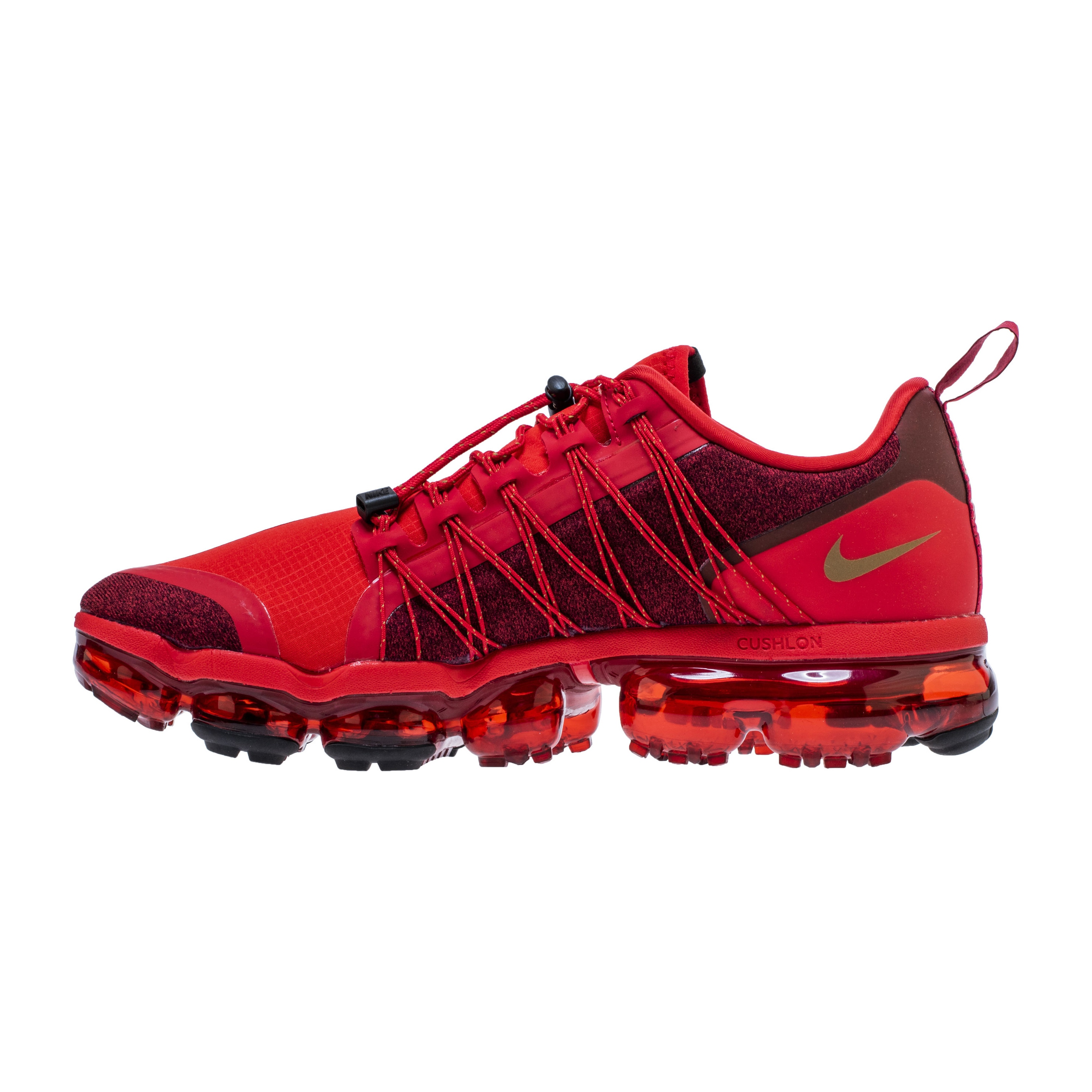 88380cf625f NIKE AIR VAPORMAX RUN UTILITY CANYON RED BLACK 4 - WearTesters