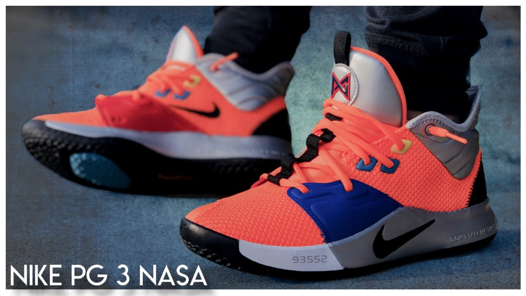 reputable site 3fe3b 041c5 Nike PG3  NASA    Detailed Look and Review - WearTesters