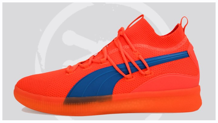 9b0fb15bb1a7 Let us know which of the two you d like to see make an appearance at retail  and if you ve played in the Puma Clyde Court