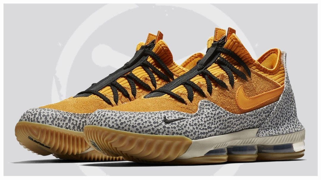 the best attitude 9f065 08e5f An Official Look at the Nike LeBron 16 Low  Safari  - WearTesters