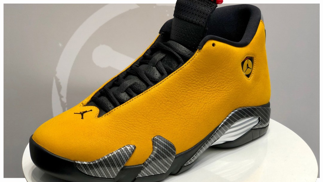 best sneakers 151c5 89b9e The Air Jordan 14  Ferrari  Returns in University Gold - WearTesters