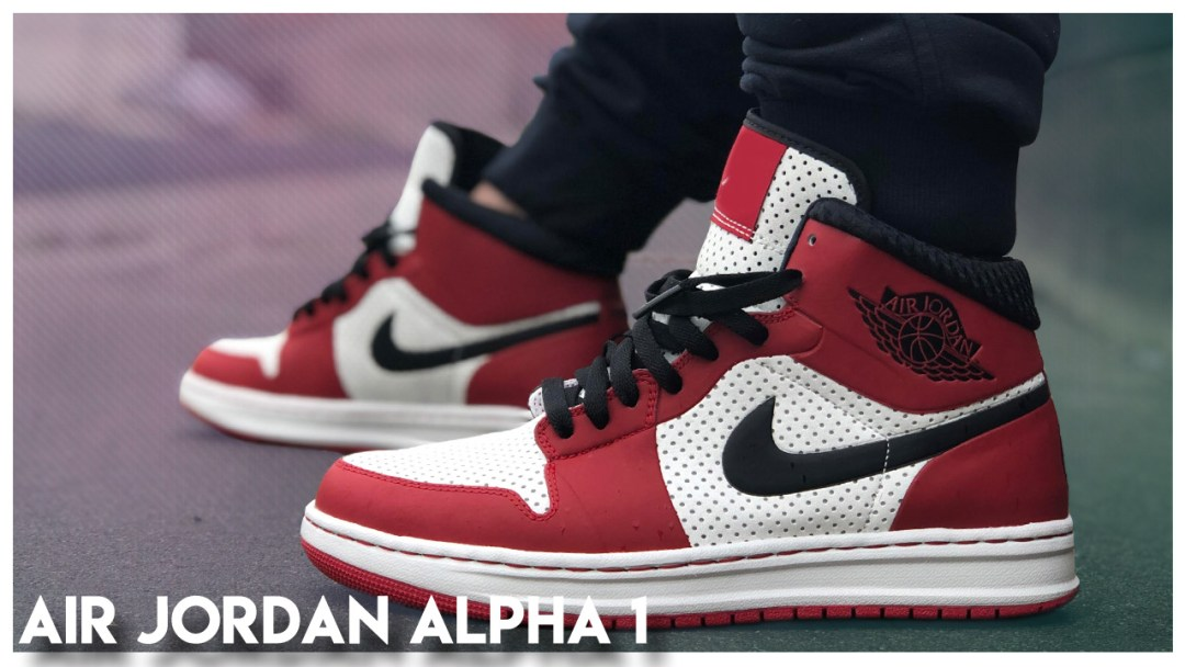 premium selection eefec fed28 A Look Back at the Air Jordan Alpha 1 - WearTesters