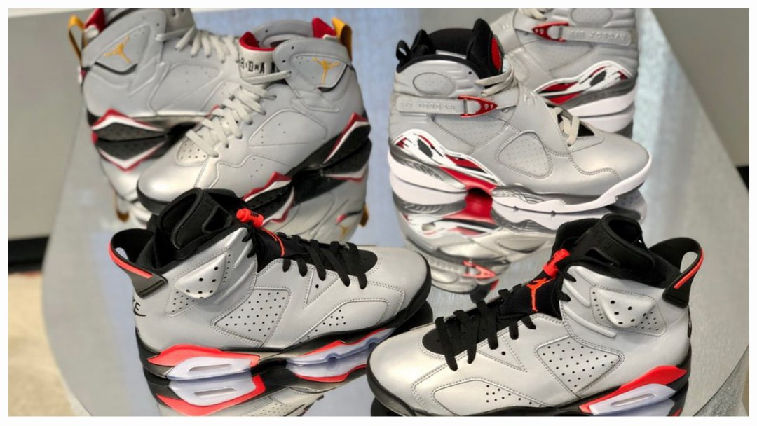 low priced 20dc5 afe31 The Air Jordan 6, 7 and 8 Get Reflective - WearTesters