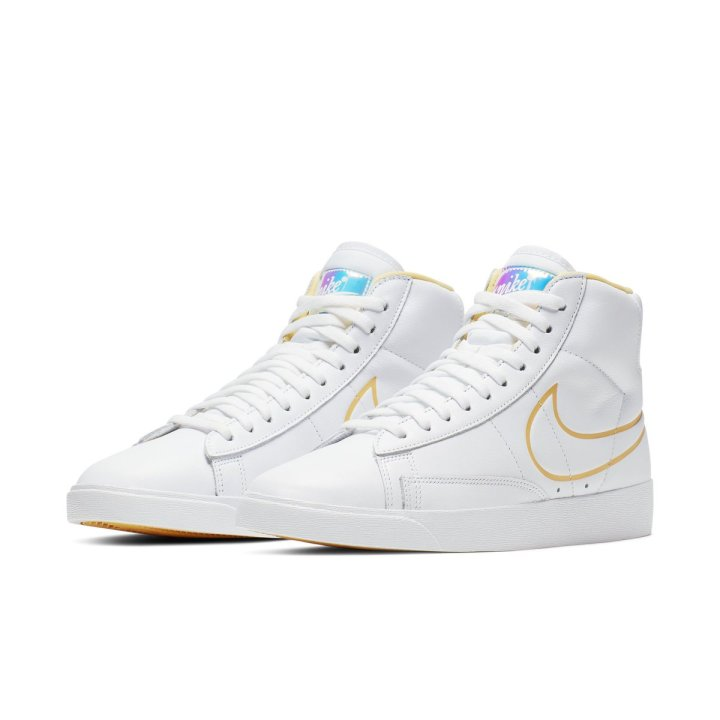 separation shoes 97293 8065e NIKE BLAZER MID BRIGHT CITRON LIGHT OREWOOD BROWN SUNBLE 1