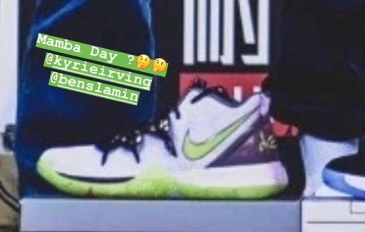 a120cfa9a32 Could This Nike Kyrie 5 be Releasing on Mamba Day  - WearTesters