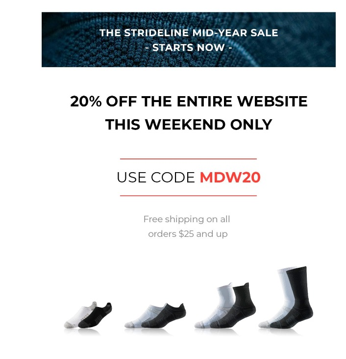 20% off entire website with promo code MDW20