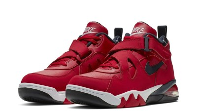 NIKE AIR FORCE MAX CB GYM RED:WHITE:BLACK 1