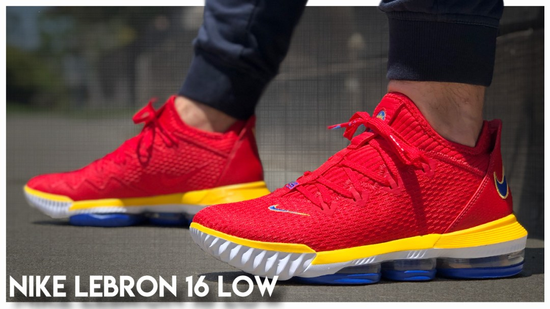 save off c8265 6880f Nike LeBron 16 Low   Detailed Look and Review - WearTesters