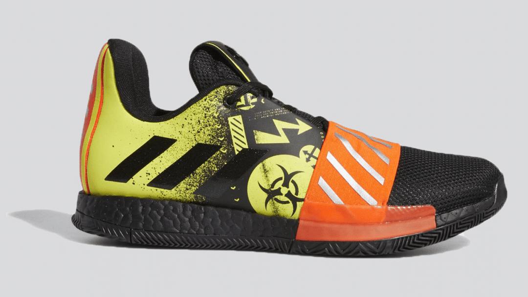 adidas Harden Vol. 3 black yellow featured image