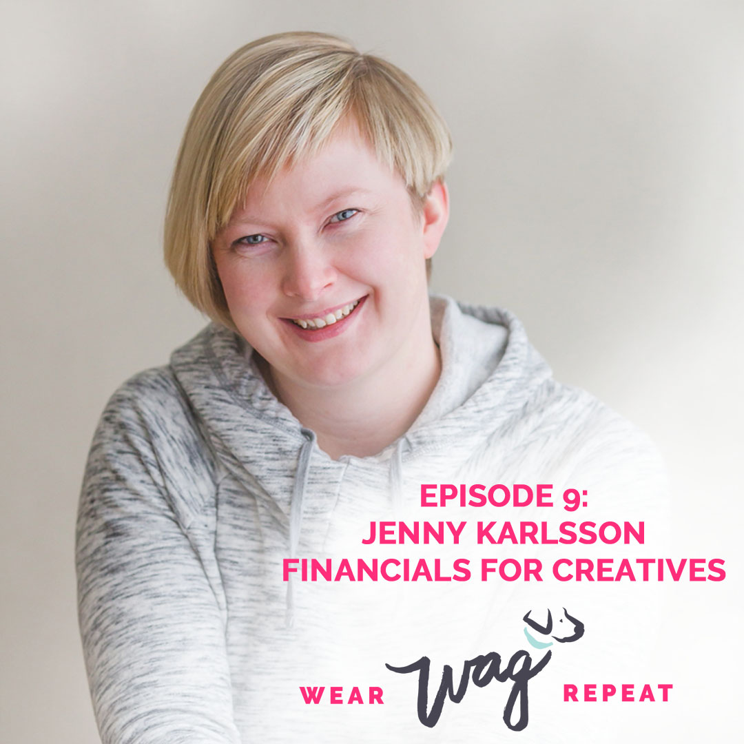 Podcast Episode 9: Jenny Karlsson of Financials for Creatives