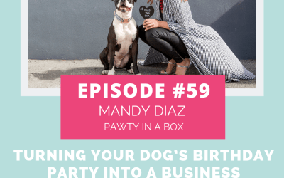 Podcast Episode 59: Turning Your Dog's Birthday Party Into a Business with Mandy Diaz of Pawty in a Box
