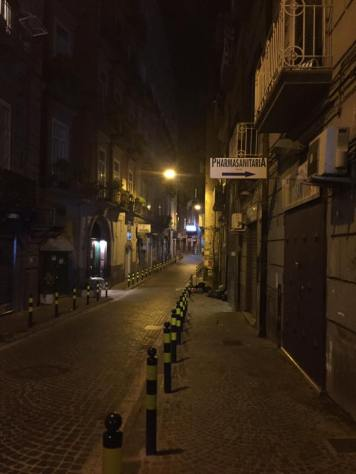 Night time streets