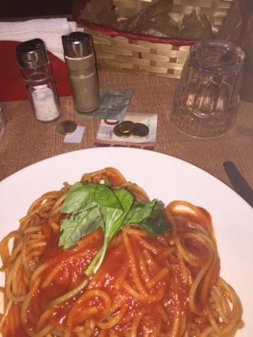 Street side Spaghetti
