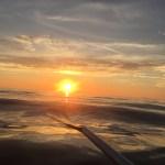 Sunset on a Kayak