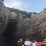 Cliffs around Lokrum Island from a Kayak