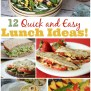 Quick And Easy Lunch Ideas The Weary Chef