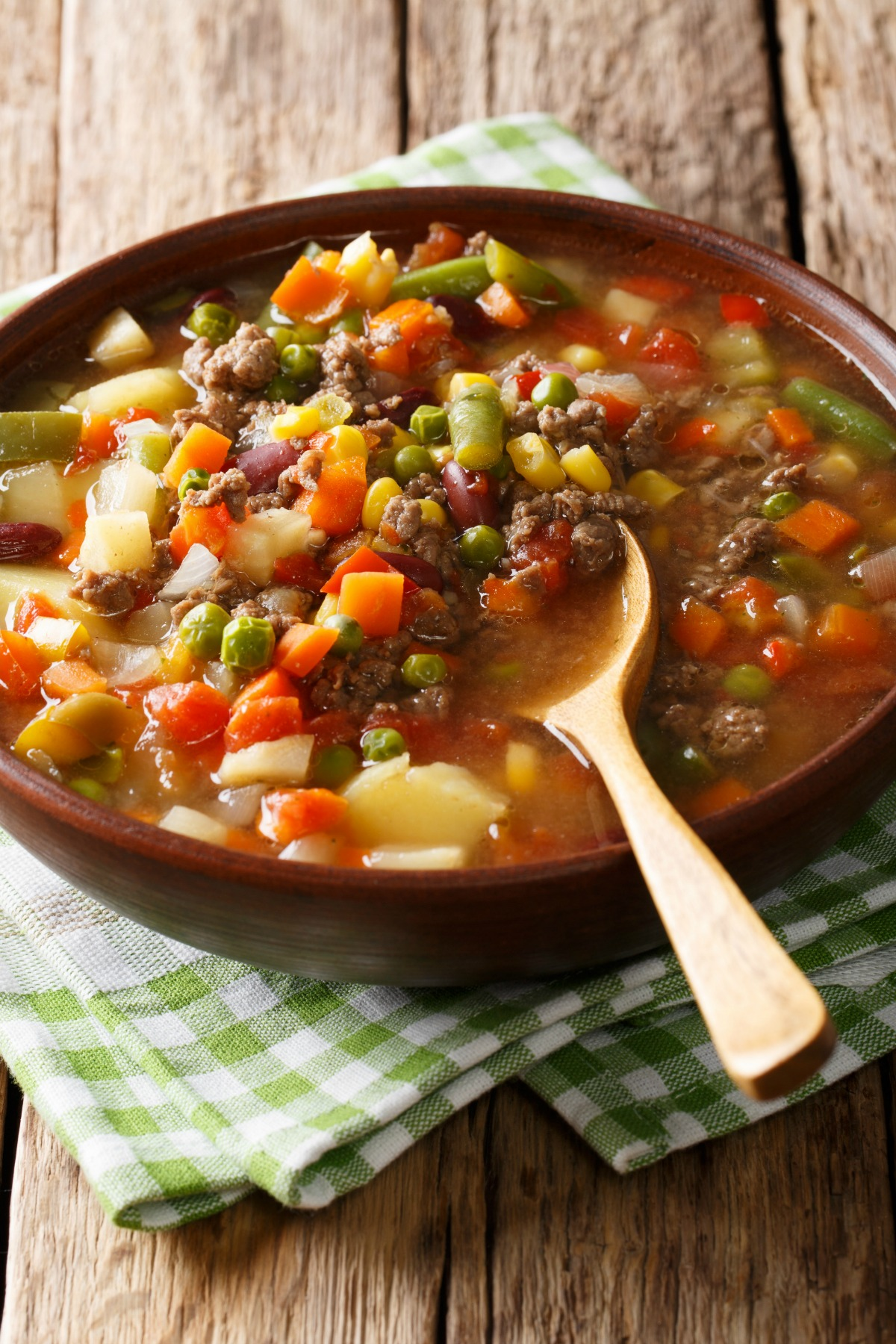 Vegetable Beef Soup Calories