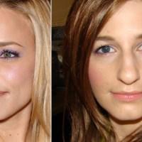 Rachel McAdams Monday Morning Makeup Inspiration, springey purples and pinks