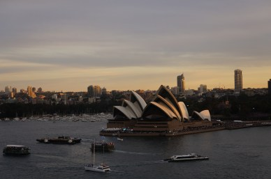 ^^ The Sydney Harbour's a real beaut - isn't she?
