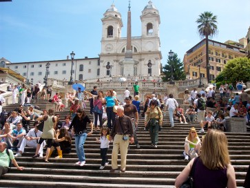 The Spanish Steps, Rome, Italy