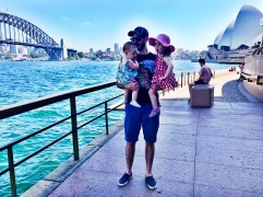 Sydney Harbour Bridge and Sydney Opera House, Circular Quay, Sydney, Australia