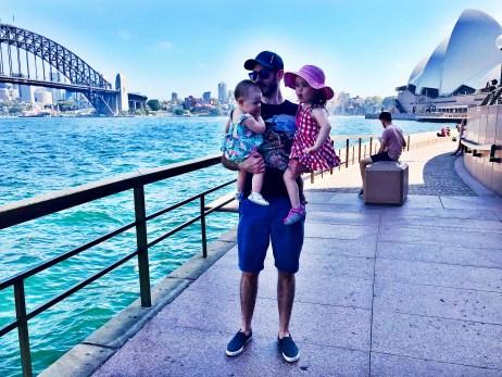 Sydney Harbour Bridge and Sydney Opera House, Circular Quay, Sydney, Australia