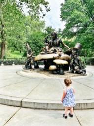 Alice in Wonderland Statue, Central Park