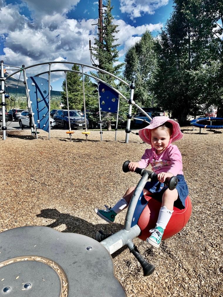 Frisco Colorado marina playground
