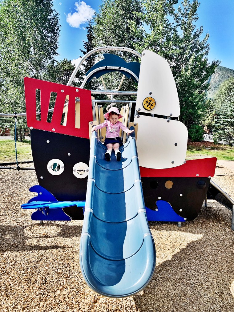 Frisco Colorado marina playground