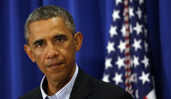 U.S. President Obama speaks about Iraq and also the shooting in Ferguson, Missouri on Martha's Vineyard