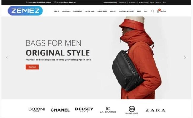 Premium Hbags Handbag Multipage Clean Opencart