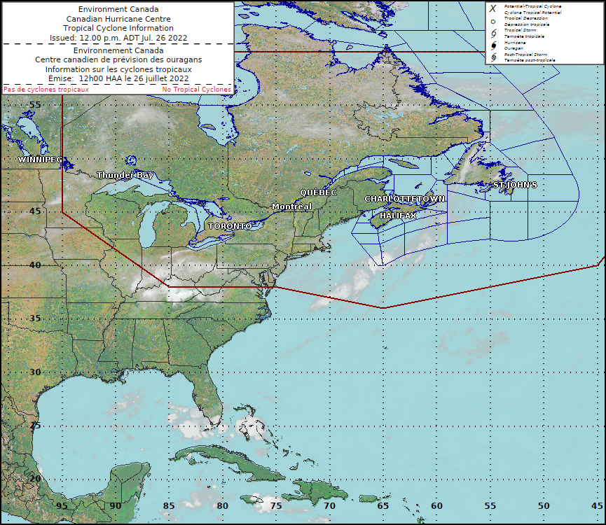 Hurricane Track Information