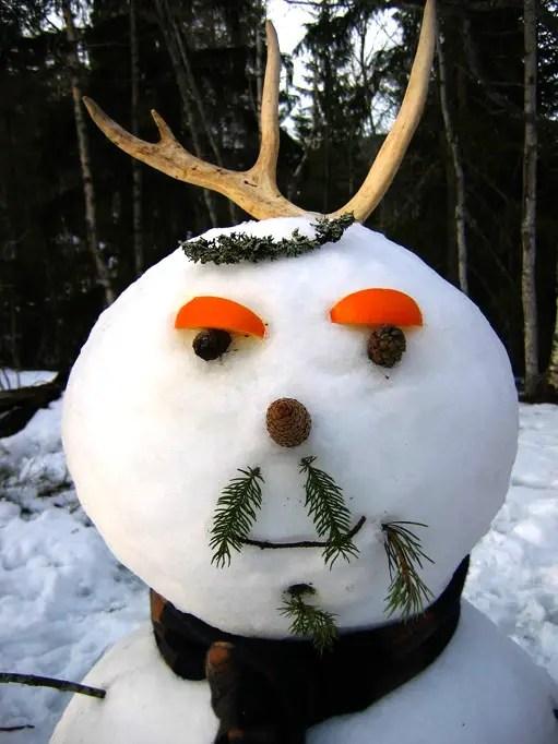 Interesting Snowman Photos Fun  Unusual Ways To Build Snowmen  The Weather Guide