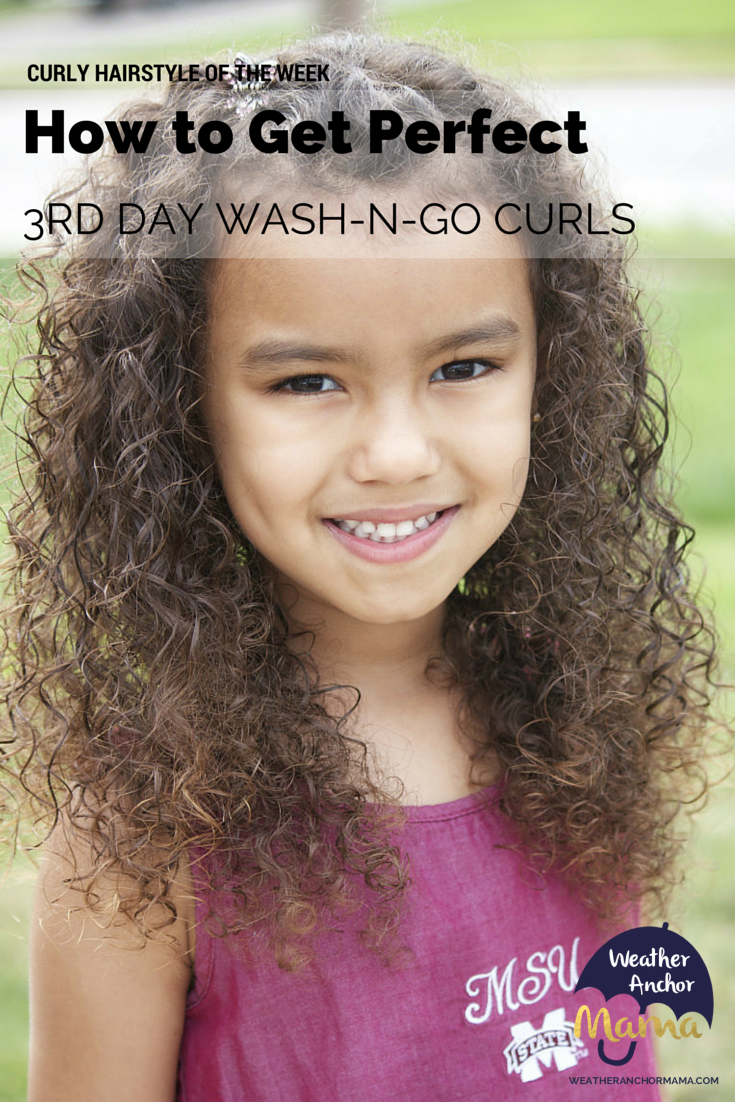 Mixed Hair Care Third Day Wash N Go Curls Weather