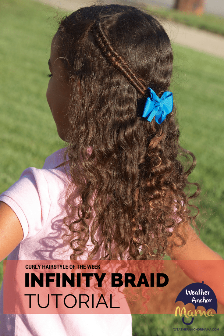 Curly Hairstyle Of The Week How To Do An Infinity Braid