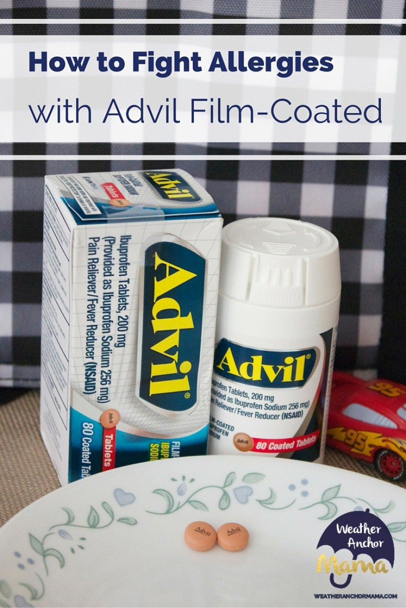 How Advil Film-Coated Fights Allergies
