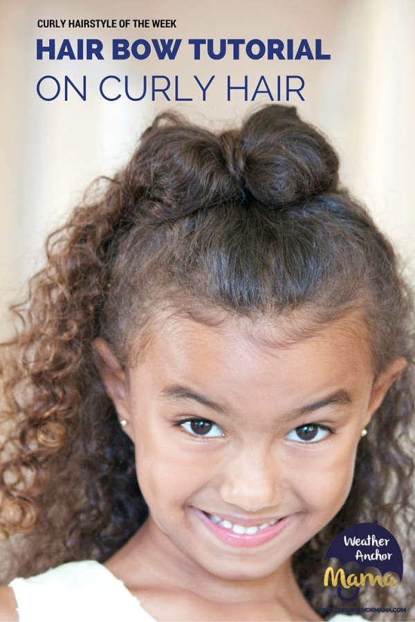 30 Mixed Girl Curly Hairstyles With Bows Hairstyles Ideas Walk