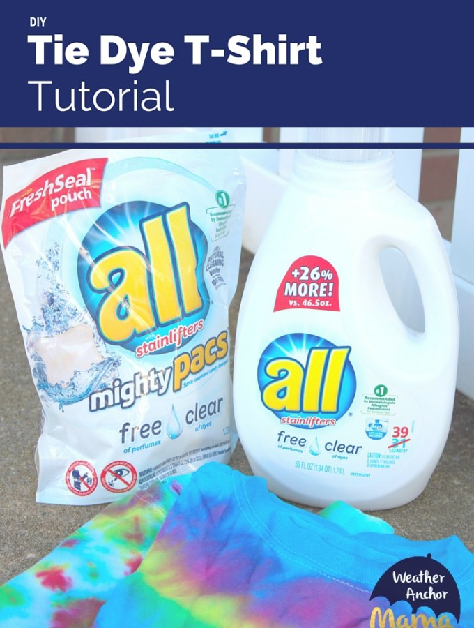 diy tie dye tutorial Every New Mom Needs all® free clear detergent