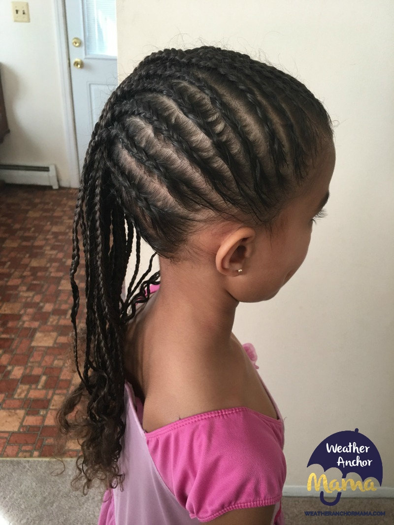 Cornrow French Braid Combo curly biracial hair mixed hair care braided hairstyles2