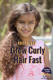 grow curly hair fast simple tips