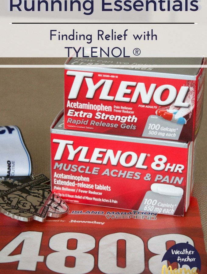 Running Essentials finding relief with TYLENOL®