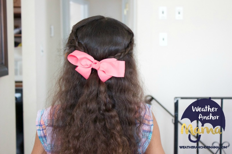 5 Easy Half Up Half Down Curly Hairstyles little girls biracial hair mixed hair care curlykids bantu knots braided hairstyles how to do dutch braid 2
