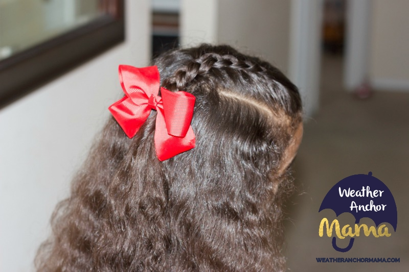 5 Easy Half Up Half Down Curly Hairstyles little girls biracial hair mixed hair care curlykids bantu knots braided hairstyles how to do dutch braid 5