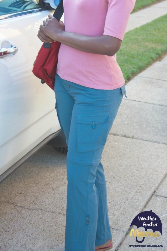 The prAna sage convertible pants