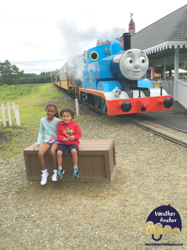 Family Vacation Thomas Land Edaville Massachusetts Multiracial kids biracial