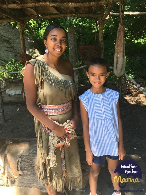 Native american plimoth plantation