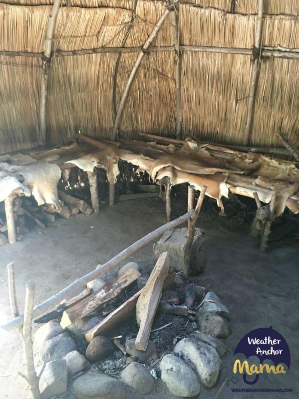 Plimoth plantation native american home