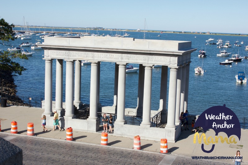 plymouth rock plymouth massachusetts walking tour family vacation